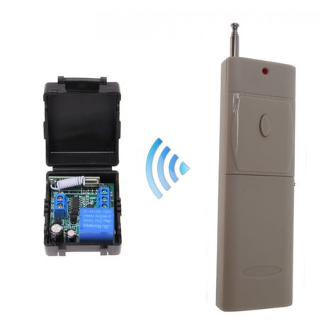 Wireless Relay KPW1 Kit with Long Range Remote Control [010-1270]