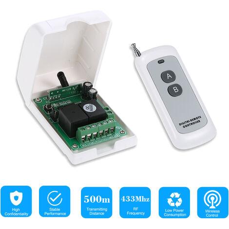 Wireless Remote Control Switch With 1 Wireless Remote Controls