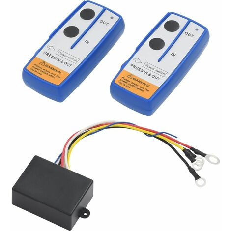 Wireless Remote Controls for Winch 2 pcs with Receiver