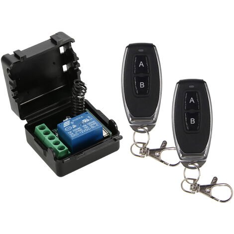 Wireless Remote Switch 433Mhz Dc 12V 1Ch, With RF Transmitter Remote Controls