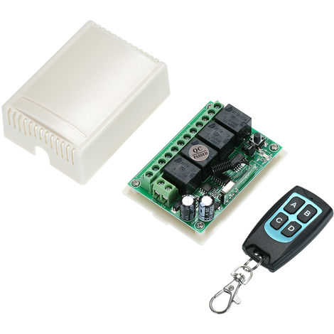 Wireless RF Switch (1 Transmitter & 1 Receiver)Green