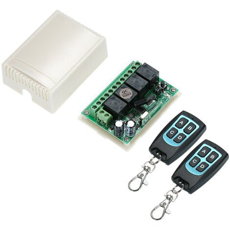 Wireless RF Switch 2 Transmitters And 1 Receiver