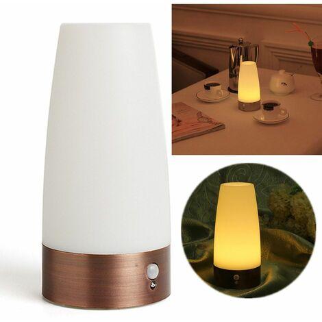 Wireless Sensor nControlled LED Antique Lamp Table Desk Light Decor Bedside