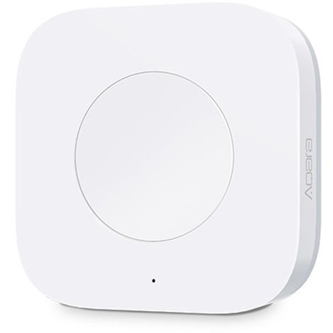 Wireless Smart Switch One Button Smart Device Control White