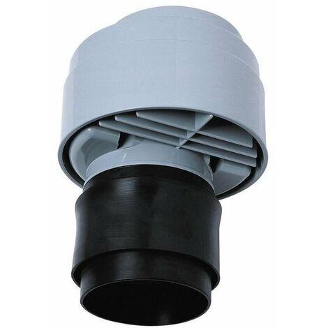 WIRQUIN Anti-vide droit excentré VP100 - Pour tube Ø 80 a 110 mm - a coller