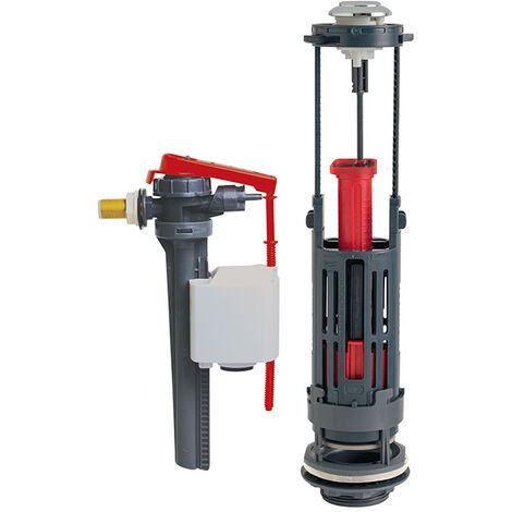 Wirquin One + Jollyfill, mécanisme à étrier avec robinet flotteur - mecanisme double chasse Jollyfill sil 3/8' laiton - Wirquin Pro - 10722123