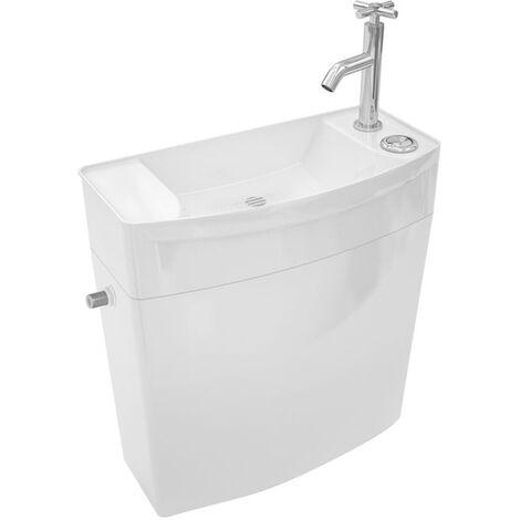 WIRQUIN Réservoir WC bas combiné Lave-Main+Robinet ISE'O