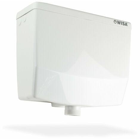 Wisa 295 WC Retro Spülkasten hochhängend Aufputz Toilettenspülkasten weiss