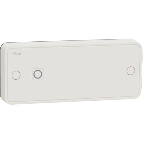 Wiser actionneur pour radiateurs électriques connectés avec fonction répéteur Zigbee, Schneider Electric réf. CCTFR6700