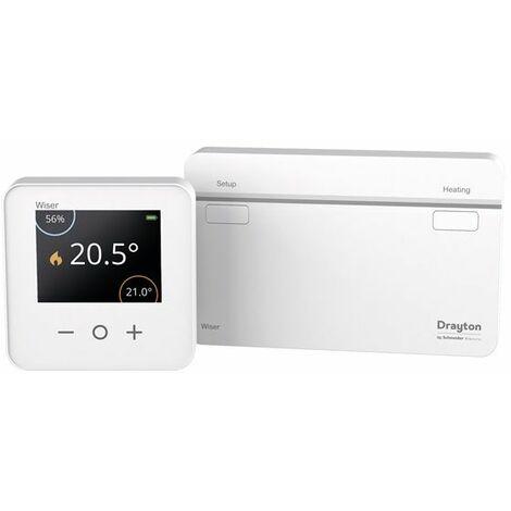Wiser Heat kit termostato + Heat Hub CCTFR6901 Schneider