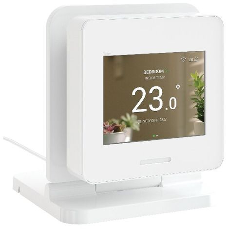 Wiser Home Touch avec station d'accueil, blanc, Schneider Electric réf. CCT501510