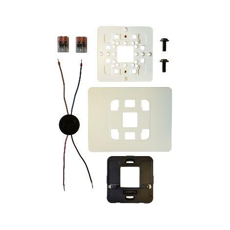 Wiser kit de montage mural pour Wiser Home Touch, Schneider Electric réf. CCT51500