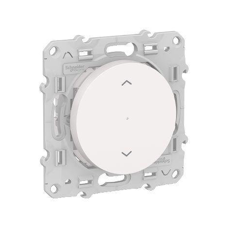 Wiser Odace bouton-poussoir connecté pour volets-roulants, Bluetooth, Schneider Electric