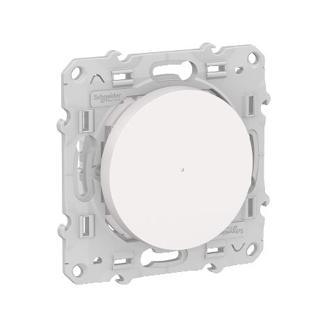 Wiser Odace bouton-poussoir variateur d'éclairage connecté, Bluetooth, 2 fils, Schneider Electric