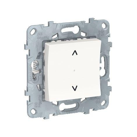 Wiser Unica bouton-poussoir connecté pour volets-roulants, Bluetooth, Schneider Electric