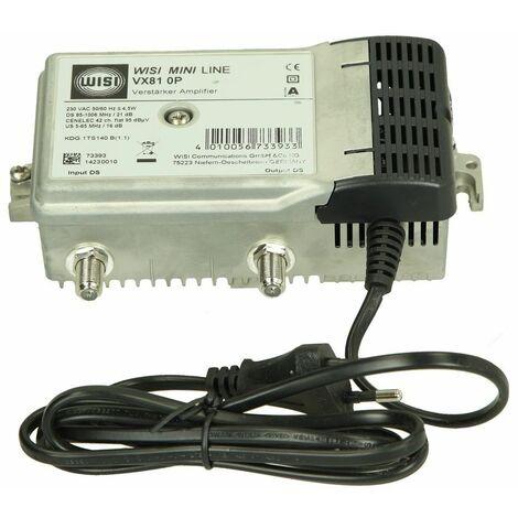 WISI BK amplificateur d´antenne domestique 18-21 dB VX810P