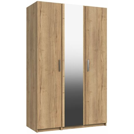 "main image of ""Wister Three Door Mirror Wardrobe"""