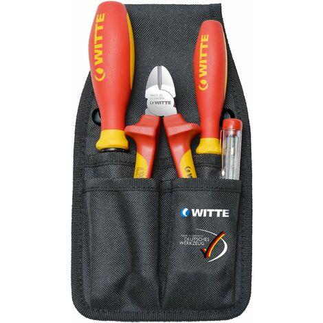 WITTE 301122 - Juego de herramientas electricista VDE-SET
