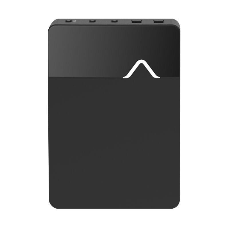 Wiz Pq9901 Usb-C Station De Chargement 96W Pd 3.0 Usb Type C Chargeur Mural De Type C Adaptateur Secteur Avec 3 Ports Rapide Charge Rapide 3.0 Usb