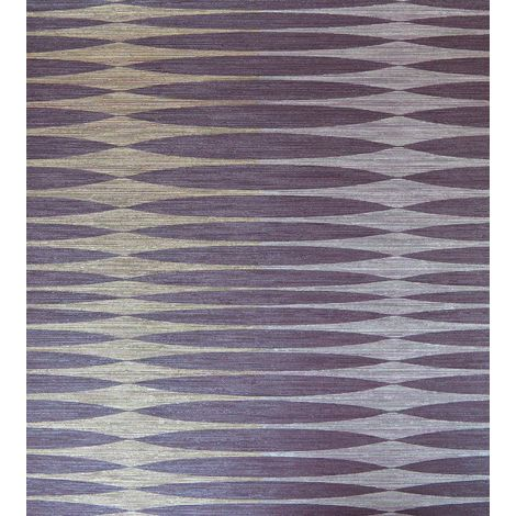 Purple Chic Structures Wallpaper Paste The Wall Grandeco Vinyl Textured Glitter