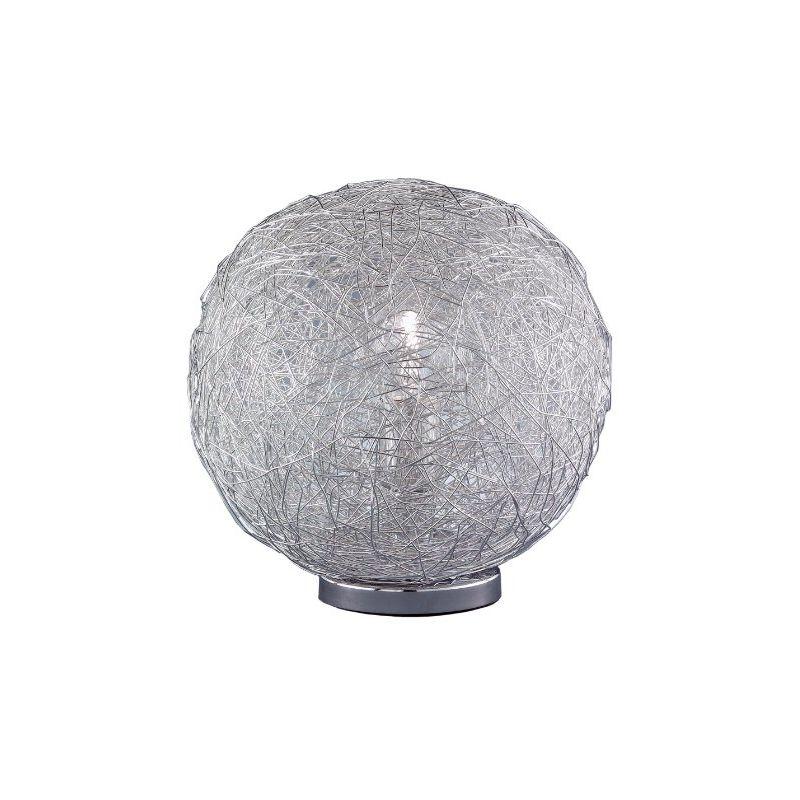 802101010500 LAMPADA DA TAVOLO CON UNA LAMPADINA, 50 CM, CROMO - Wofi