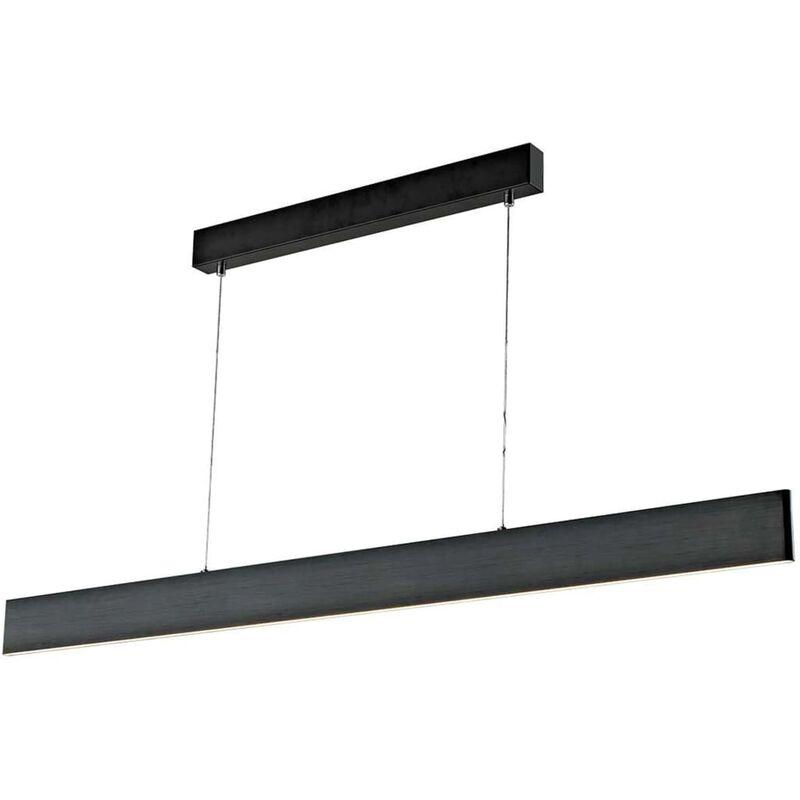 Wofi LED-Hängeleuchte Sileas 122x6x150 cm Schwarz
