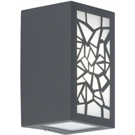 Wofi Padua Geometric Outdoor Wall Light