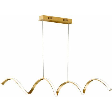 Wofi Russel Golden Pendant Light