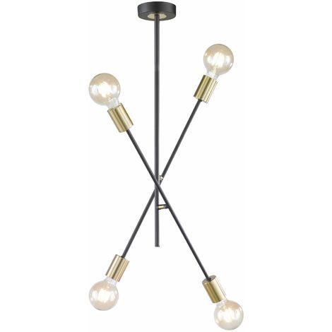 Wofi Tanil Semi Flush Ceiling Light 4