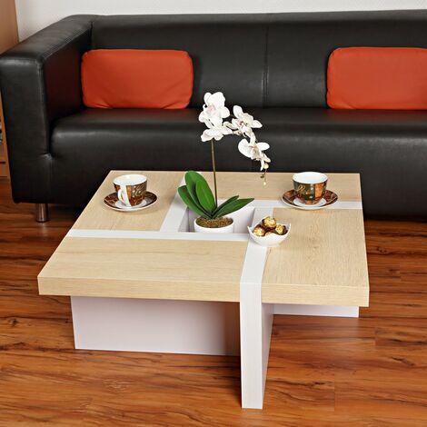 Wohnzimmertisch Couchtisch Beistelltisch Designertisch Holz