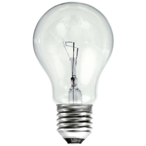 Lámpara incandescente standard reforzada E27 60W 630Lm 60x105mm.