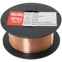 Wolf 0.6mm Welding Wire Copper Coated Spool For MIGs