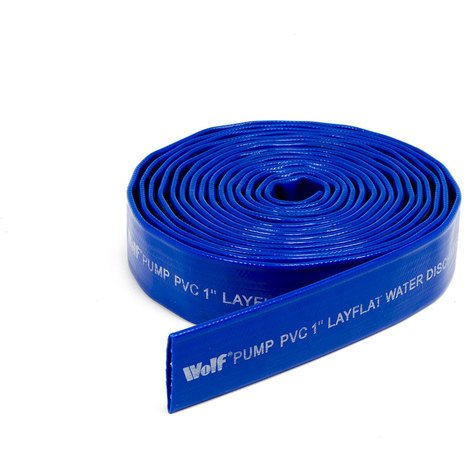 """Wolf 1"""" Delivery Water Hose - 5 Metres"""