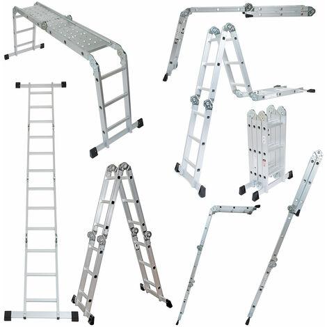 Wolf 11 in 1 Aluminium Folding Ladder