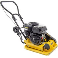Wolf 11000N Petrol Powered Compactor with Wheels & Paving Pad