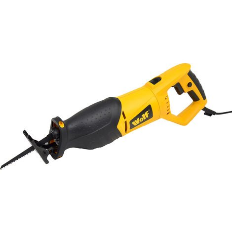 Wolf 1100w Reciprocating Saw with Variable Speed