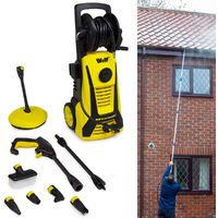 Wolf 165BAR Pressure Washer & Refurbished Telescopic Lance