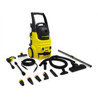 Wolf 2000W Pressure Washer 150 BAR & 700W Wet & Dry Vacuum