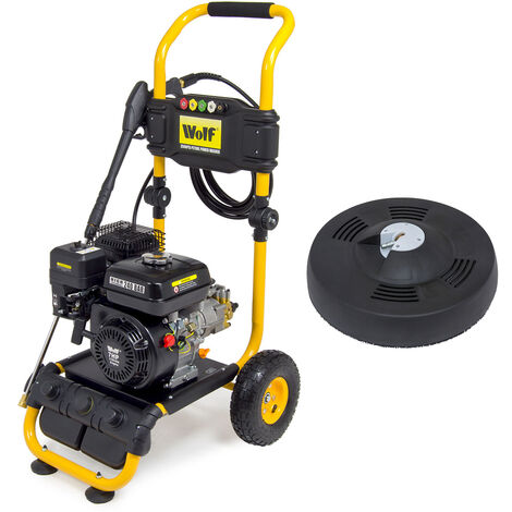 Wolf 240 Bar Petrol Pressure Washer & Patio Cleaner