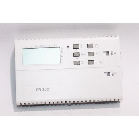 Wolf 2744079 Room thermostat clock with weekly program