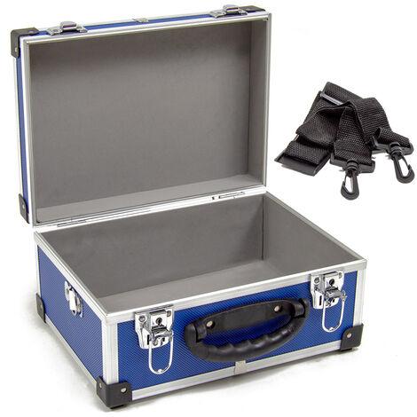 Wolf 320mm Blue Aluminium Storage Case