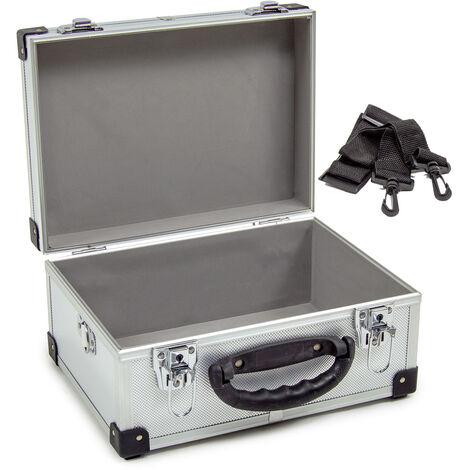 Wolf 320mm Silver Aluminium Storage Case