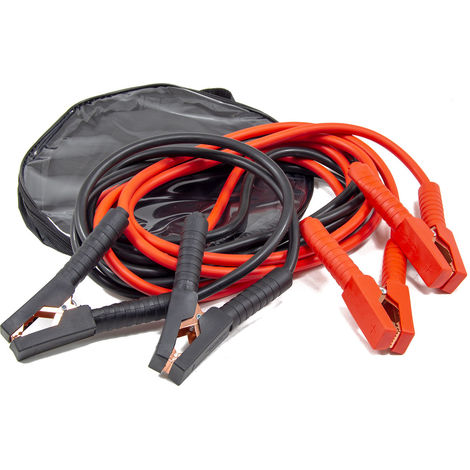 Wolf 4 Metre 500A Heavy Duty Jump Leads