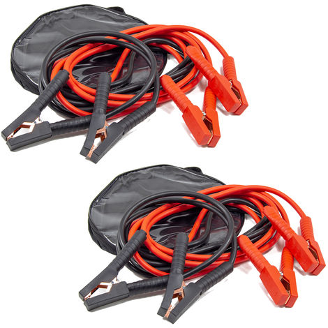 Wolf 4 Metre 500A Heavy Duty Jump Leads Twin Pack