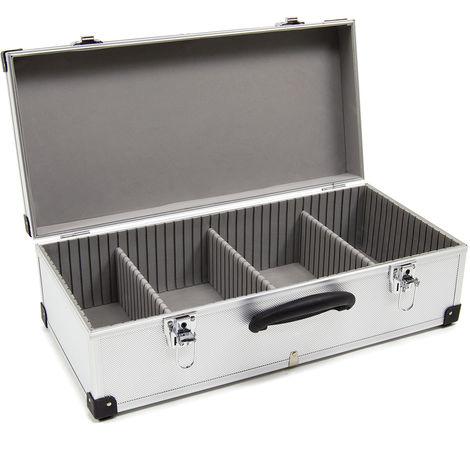 Wolf 80 CD Aluminium Storage Case