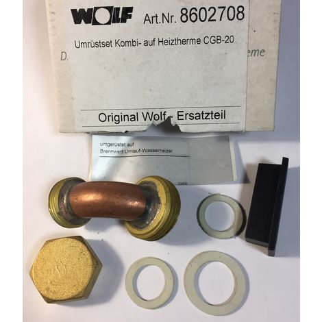 Wolf 8602708 Conversion kit KOMBI for Boiler CGB-20