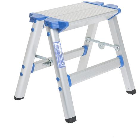 Pleasing Wolf Aluminium Folding Step Stool Alphanode Cool Chair Designs And Ideas Alphanodeonline