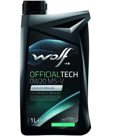 WOLF - Bidon Officialtech 0W20 MS-V 1L - 8332517