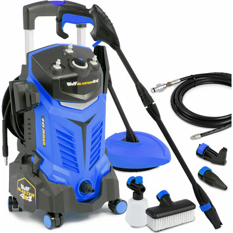 Wolf Blaster 4x4 165BAR Pressure Washer - Blue