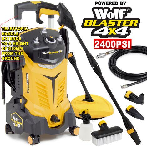 Wolf Blaster 4x4 165BAR Pressure Washer - Yellow